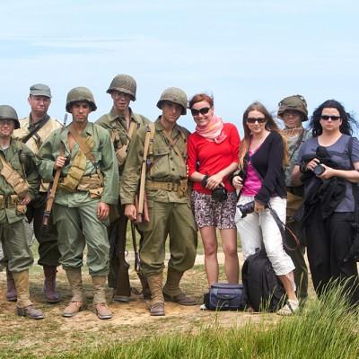 Warsztaty w Normandii