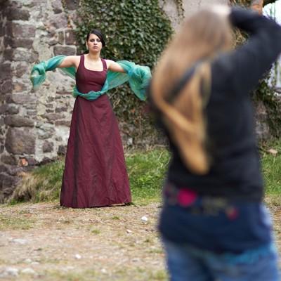 Warsztaty w zamku w Świnach