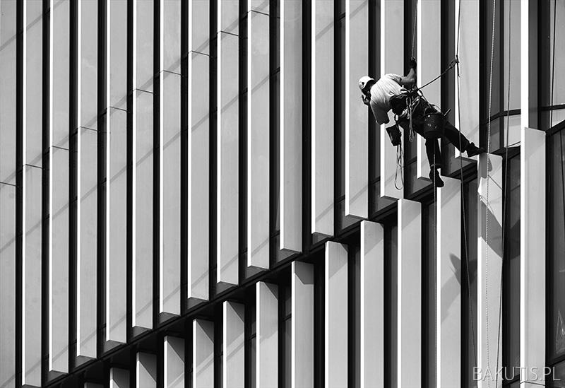 Silver Tower Wrocław - fotografia architektury