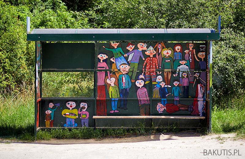 pomalowane przystanki