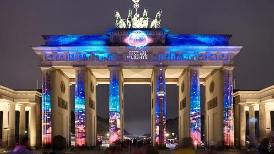 warsztaty fotograficzne na Festival of Lights w Berlinie