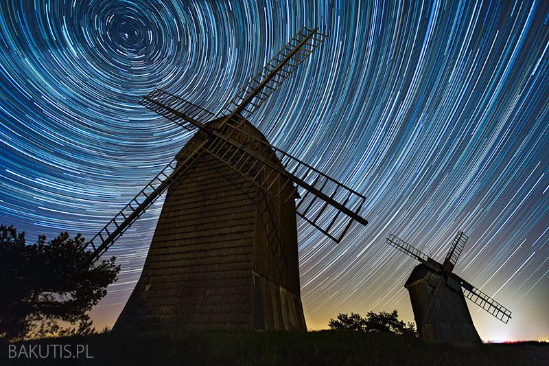 Startrails - fotografia gwiazd