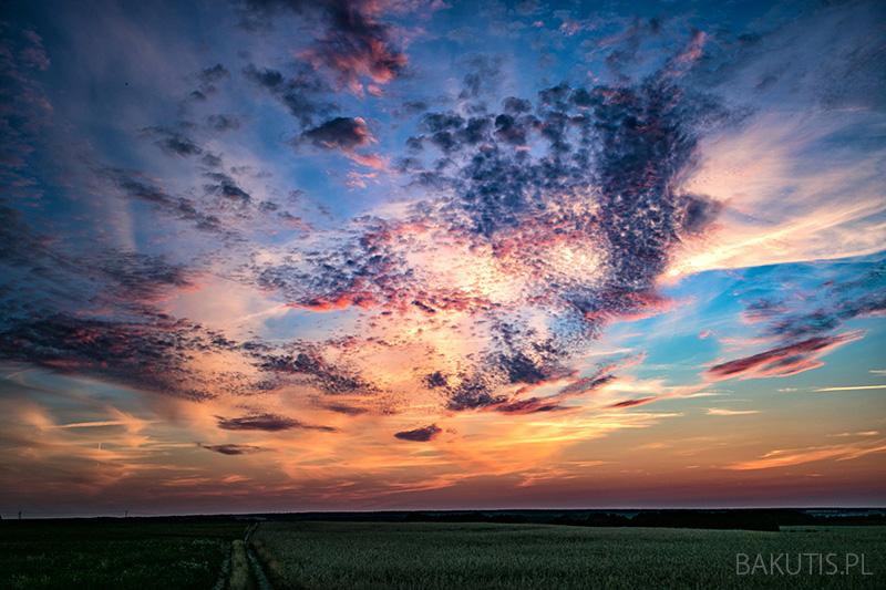 Niesamowite zachody słońca