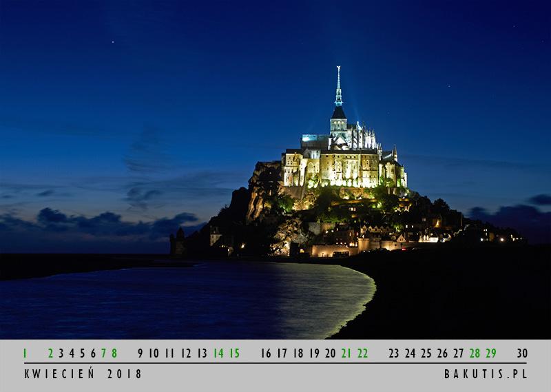 kalendarz 2018 - kwiecień